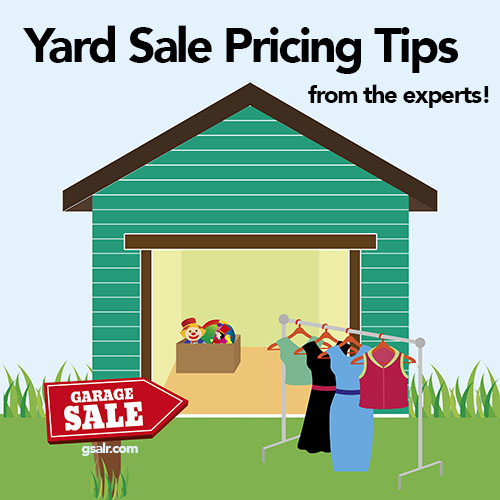 Yard Sale Pricing Tips That You Don T Want To Miss Garage